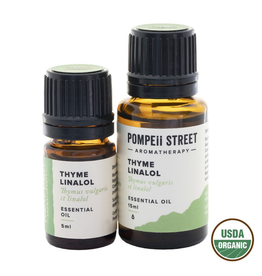 Pompeii Organic Thyme Essential Oil 15ml