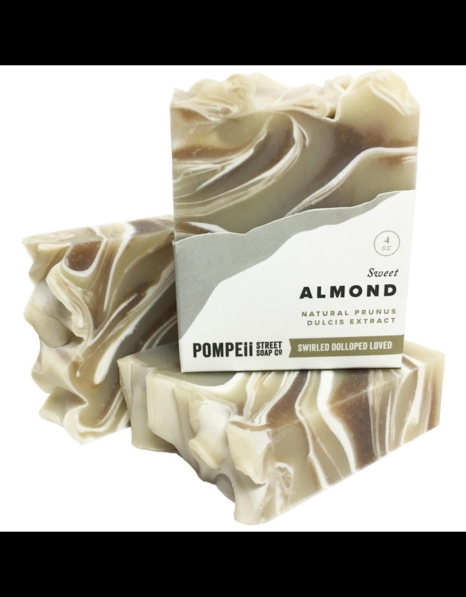 Almond Soap Bar 4 oz.