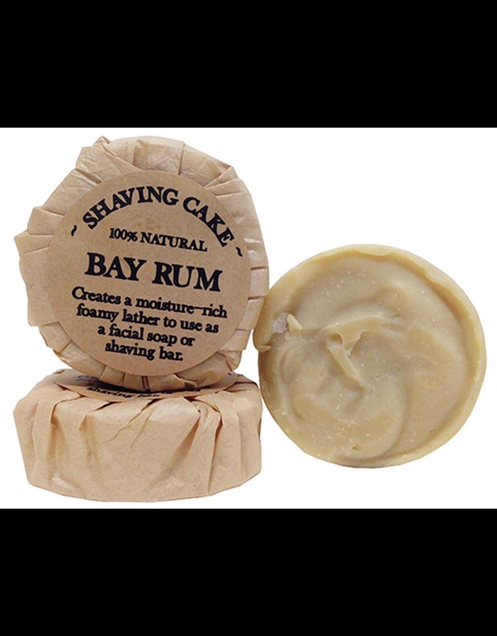 Bay Rum Shaving Cake
