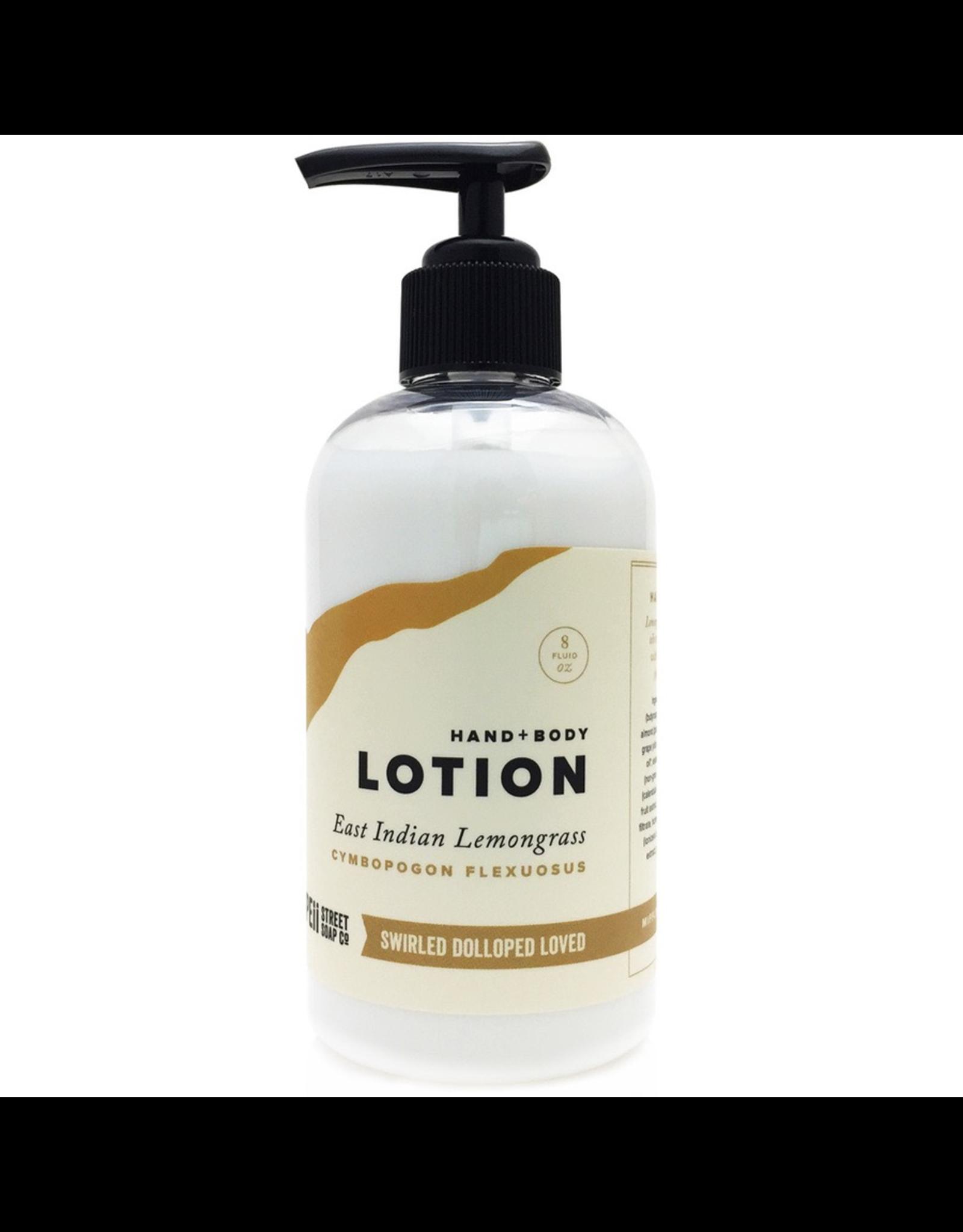 Hand + Body Lotion Lemongrass 8 oz.