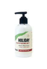 Hand + Body Lotion Holiday Peppermint 8 oz.