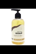 Hand + Body Soap Frankincense Myrrh 8 oz.