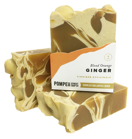 Blood Orange and Ginger Soap 4 oz.