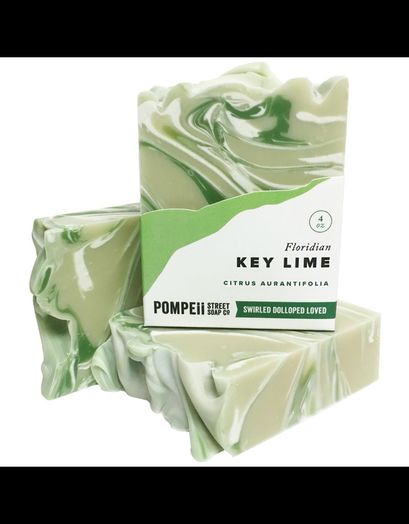 Key lime Soap 4 oz.