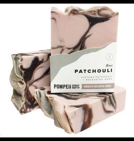 Pompeii Rose Patchouli Soap 4 oz.