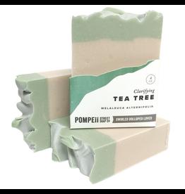 Pompeii Tea Tree & Clay Soap 4 oz.