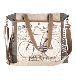 American Ramblers Tote With Handles & Crossbody Strap