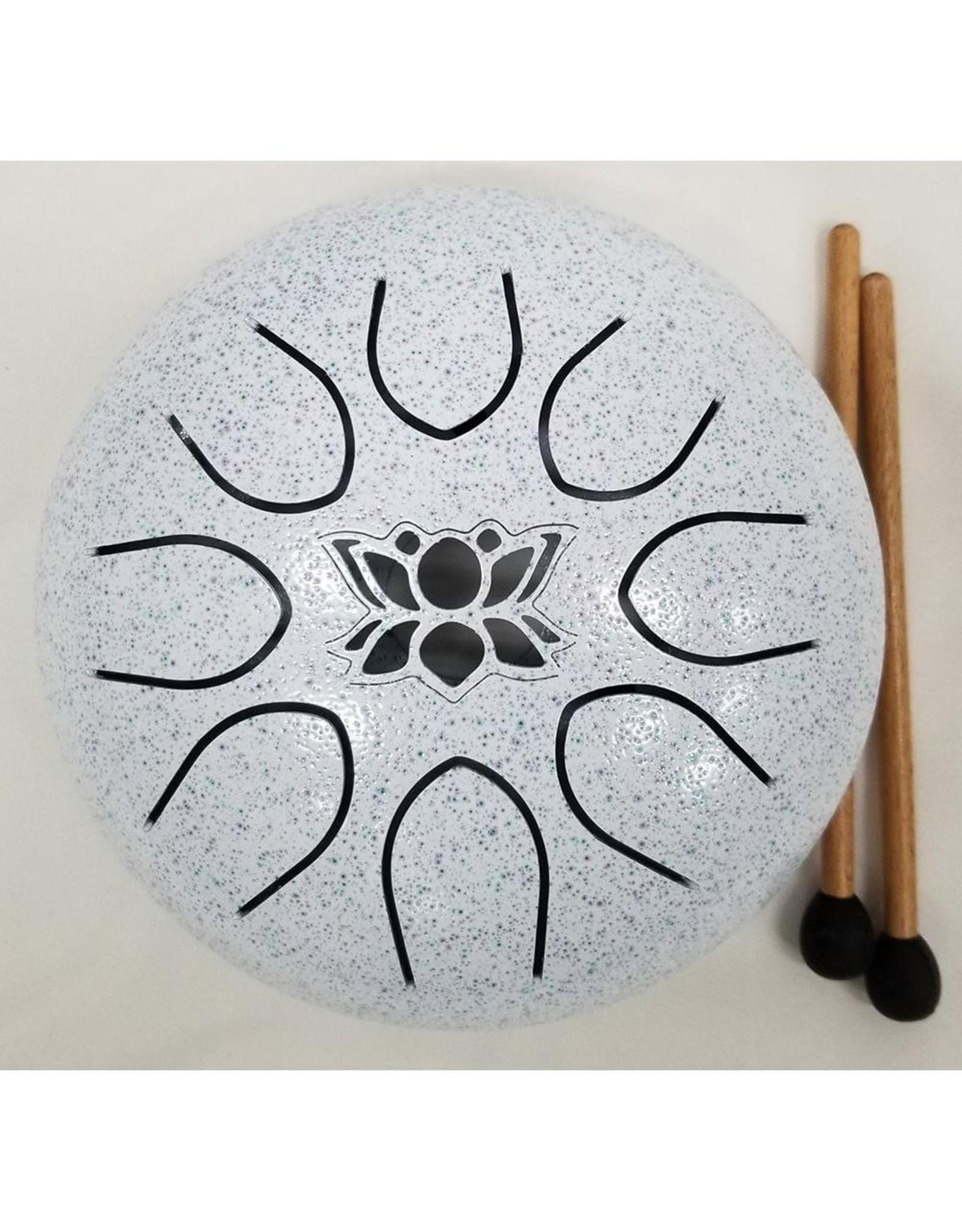 UFO Meditation Drum 16cm-White