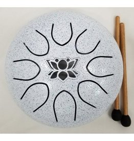 UFO Meditation Drum 16cm-White
