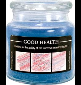 Crystal Journey 16 oz Good Health Jar Candle