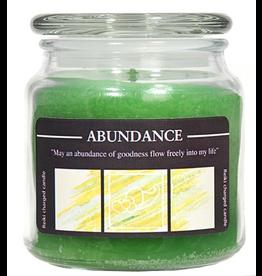 Crystal Journey 16 oz Abundance Jar Candle
