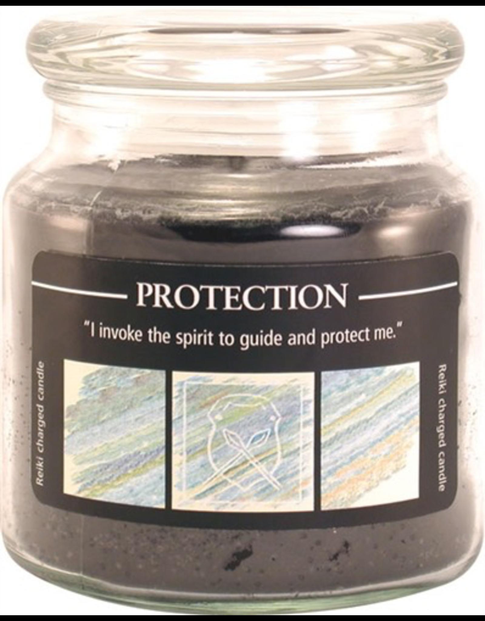 Crystal Journey 16 oz Protection Jar Candle