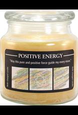Crystal Journey 16 oz Positive Energy Jar Candle