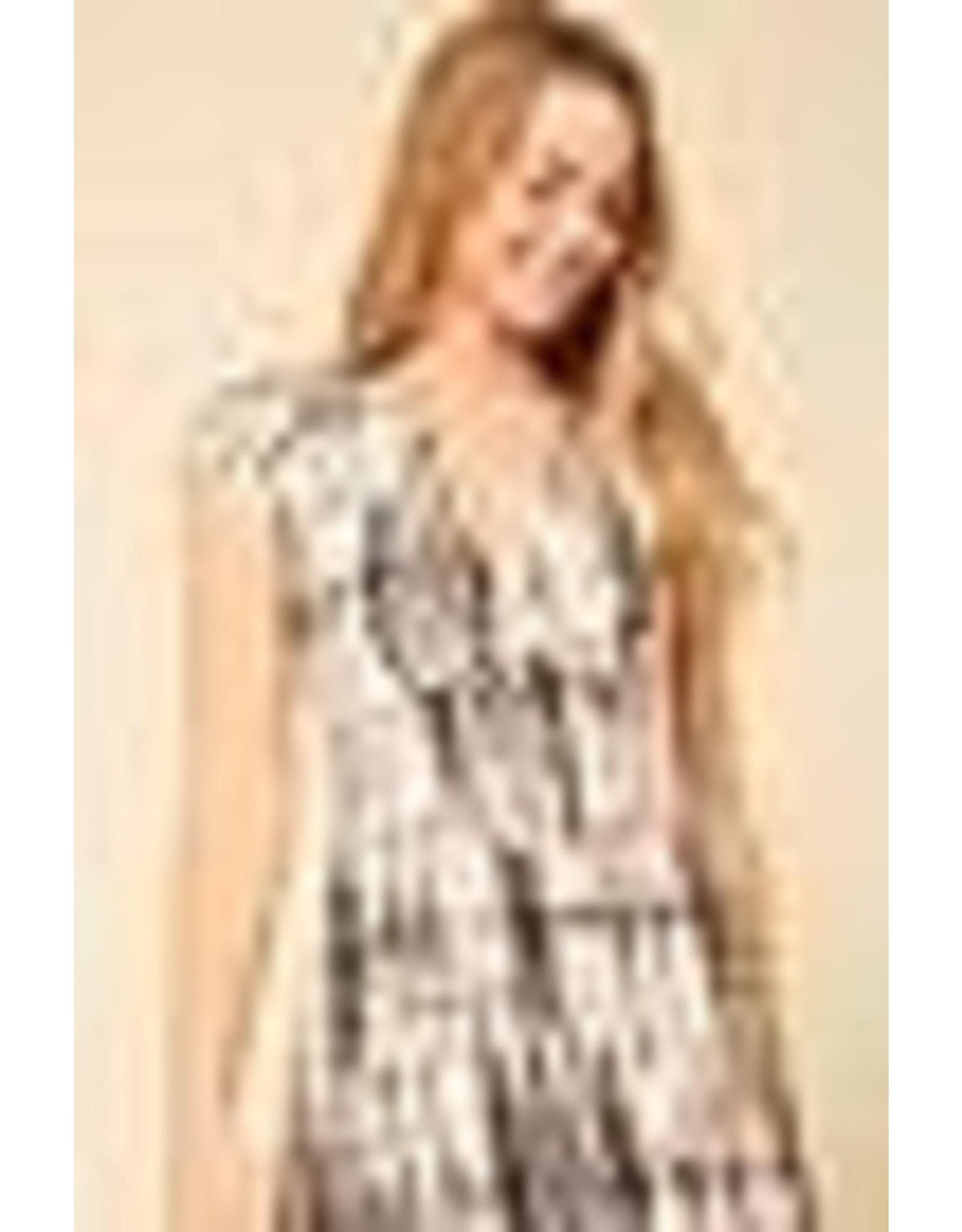 Short Sleeved Brushed Dress