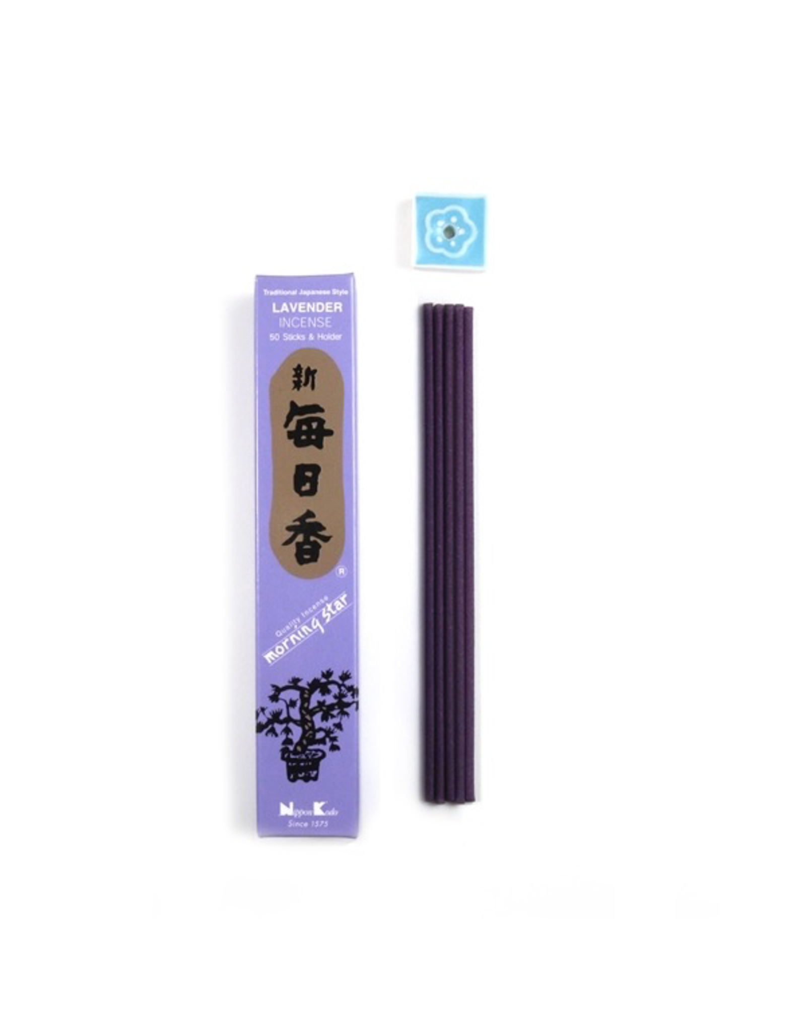 Nippon Kodo Morningstar Japanese Rolled Lavender Incense
