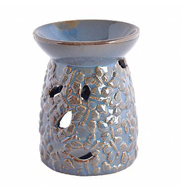 Blue Butterfly Ceramic Holder