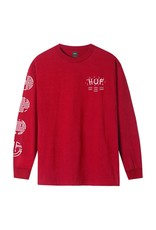 Year of the Rat L/S Tee-Red