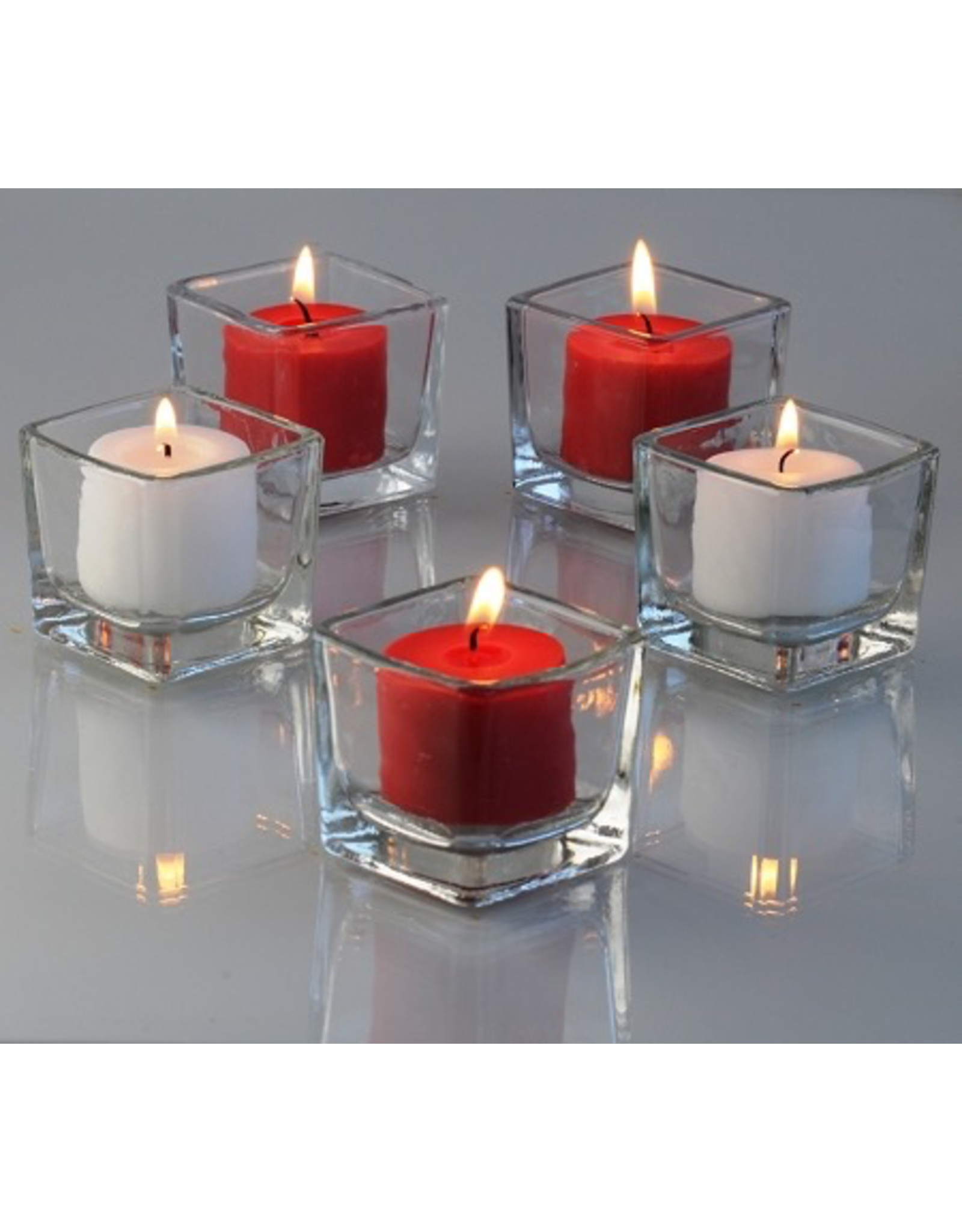 2 Inch Square Votive Holder
