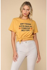 "Blank Paige ""Anything Boys Can Do I Can Do Better"" T-Shirt"