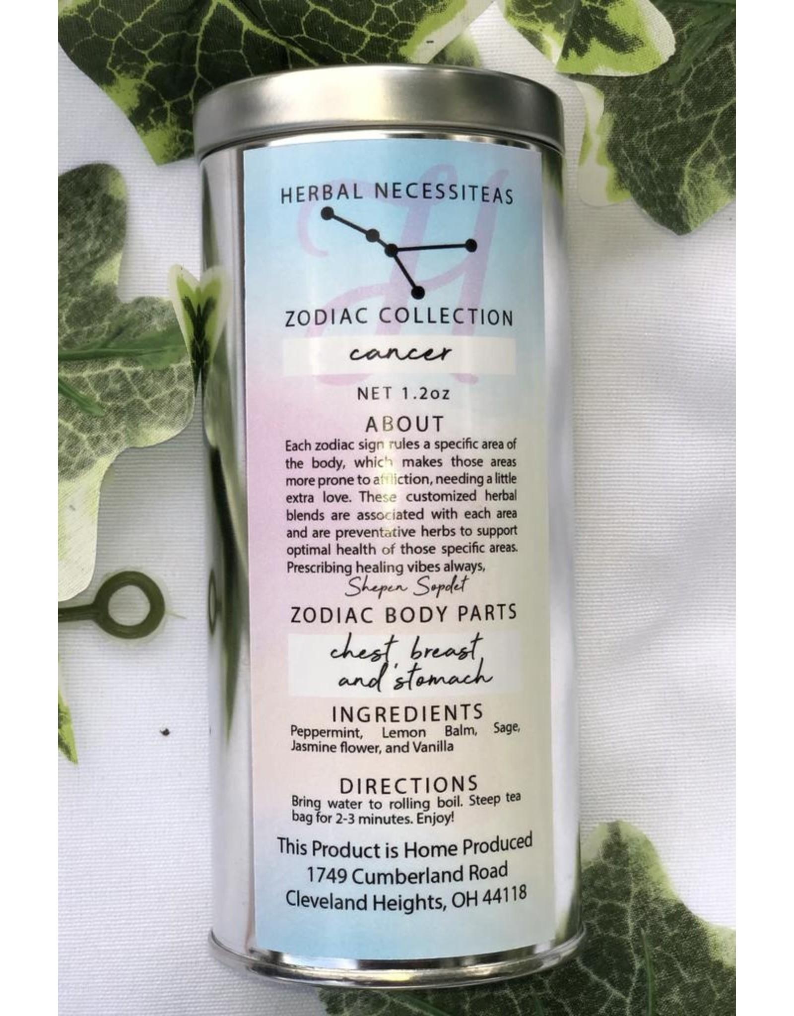 Cancer Zodiac Herbal Tea