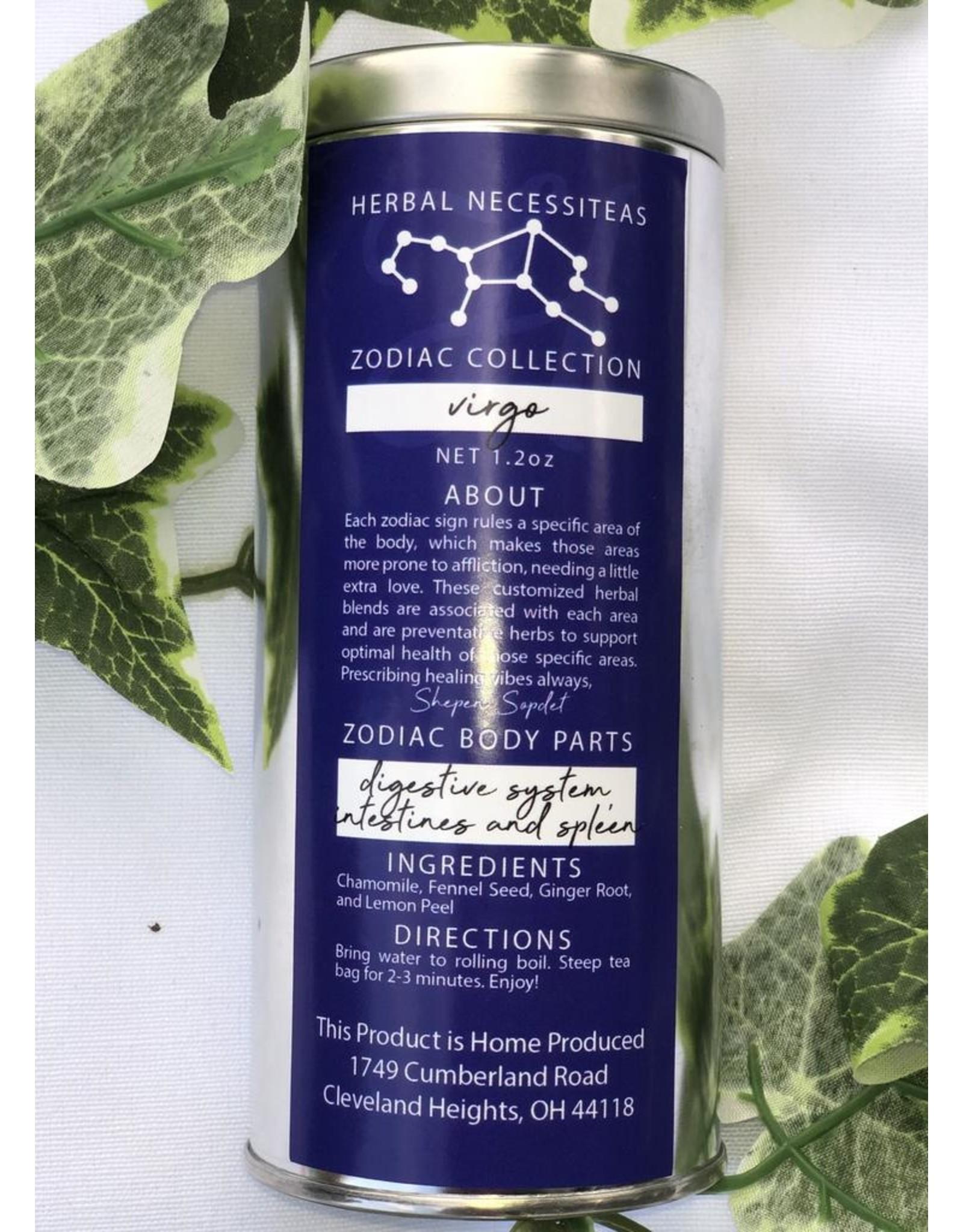 Virgo Zodiac Herbal Tea