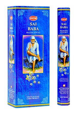 HEM 20 Gram Sai Baba Hex Box Incense