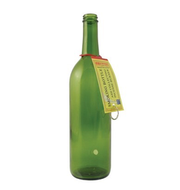 Wildberry Smoking Bottle Plain Green Glass
