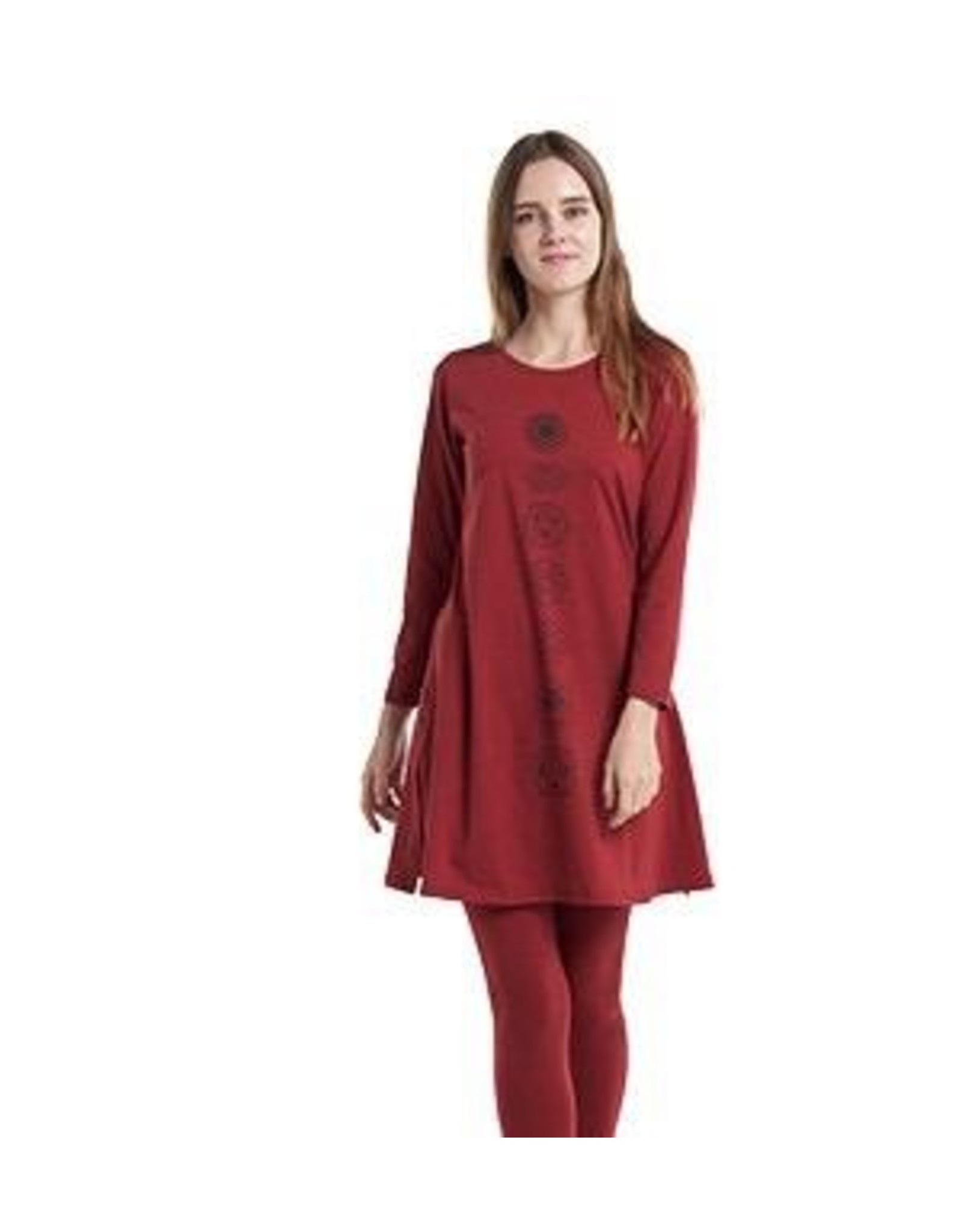 Long Sleeve Chakra Dress