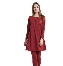 Kathmandu Imports Long Sleeve Chakra Dress