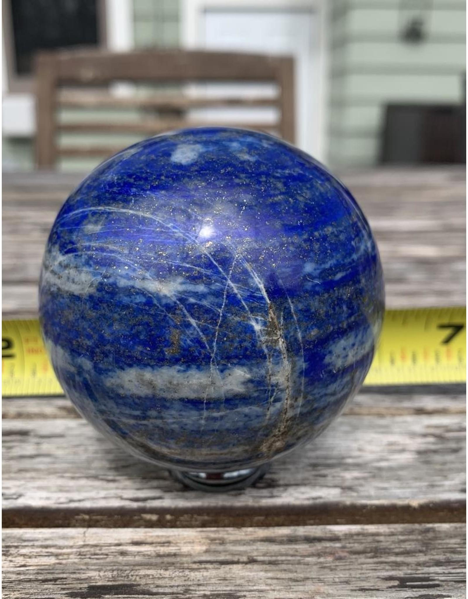 Polished Lapis Lazuli Sphere