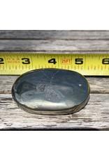 Polished Pyrite Palm Stone