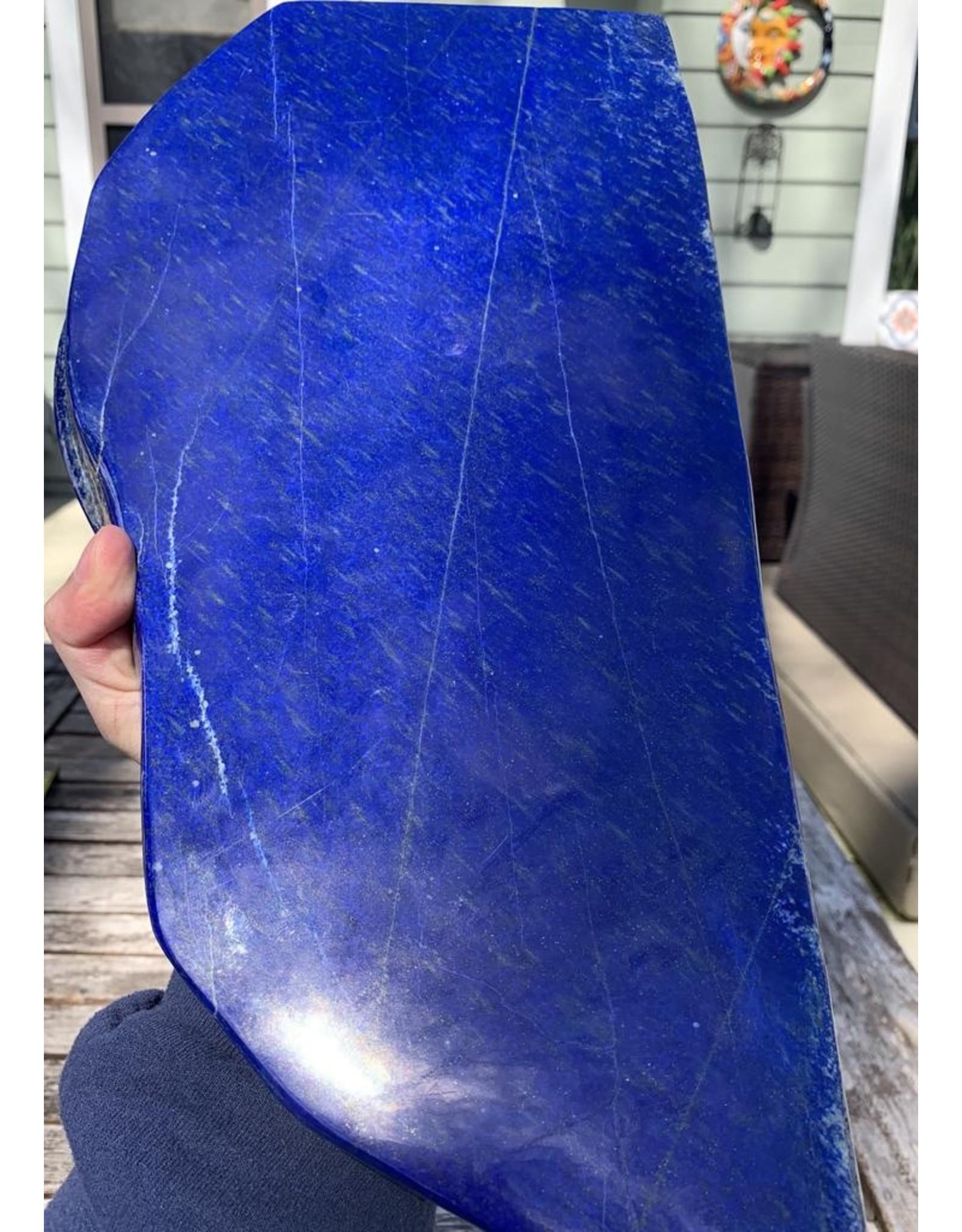 Polished Lapis Lazuli Slab