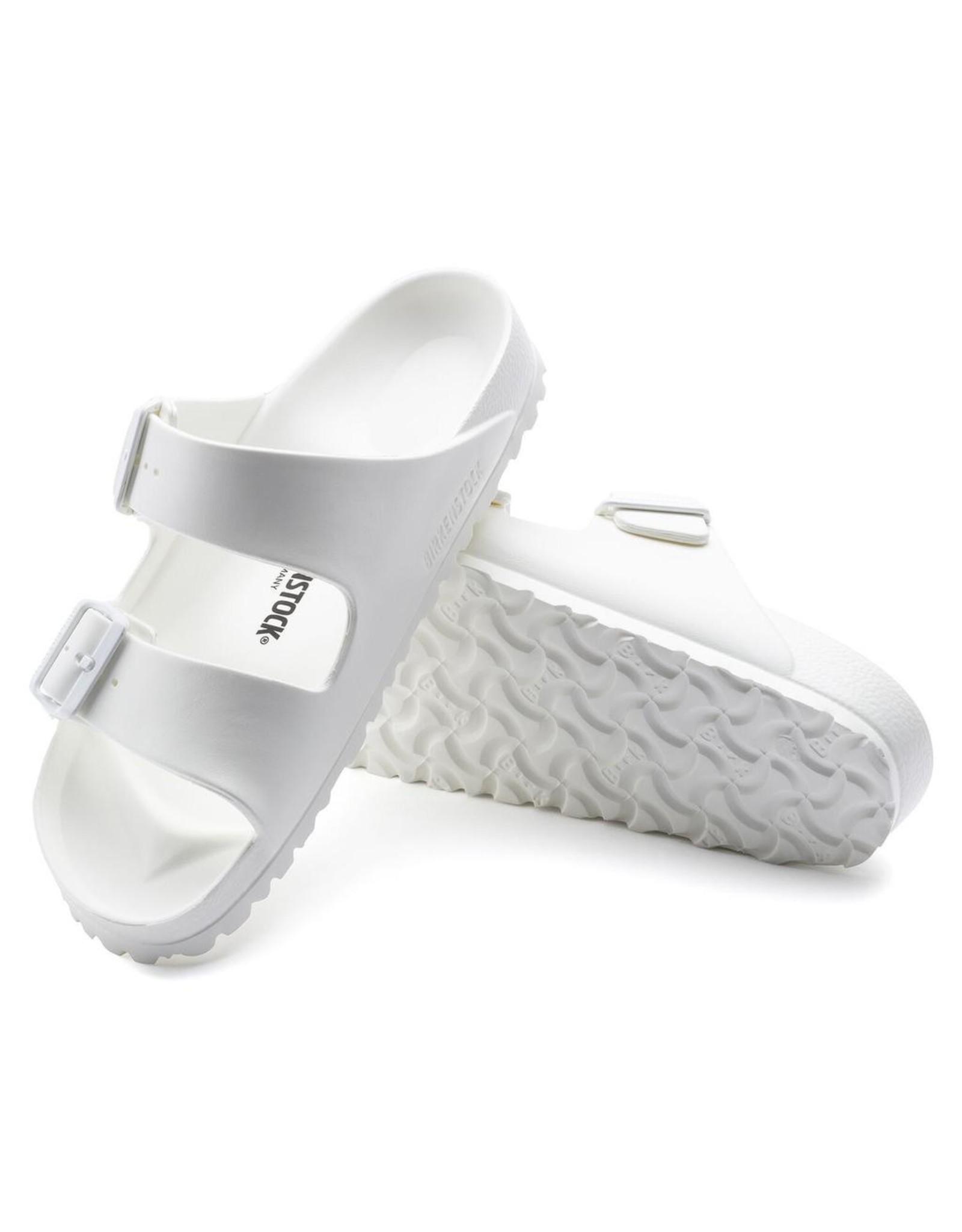 Birkenstock White Arizona EVA Sandal
