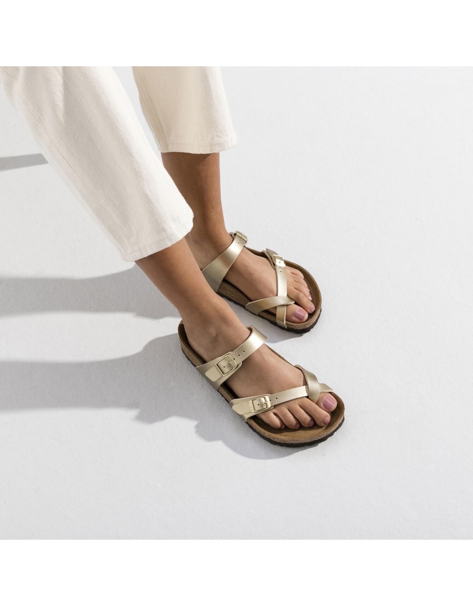 Birkenstock Mayari Gold Birko-Flor Sandal
