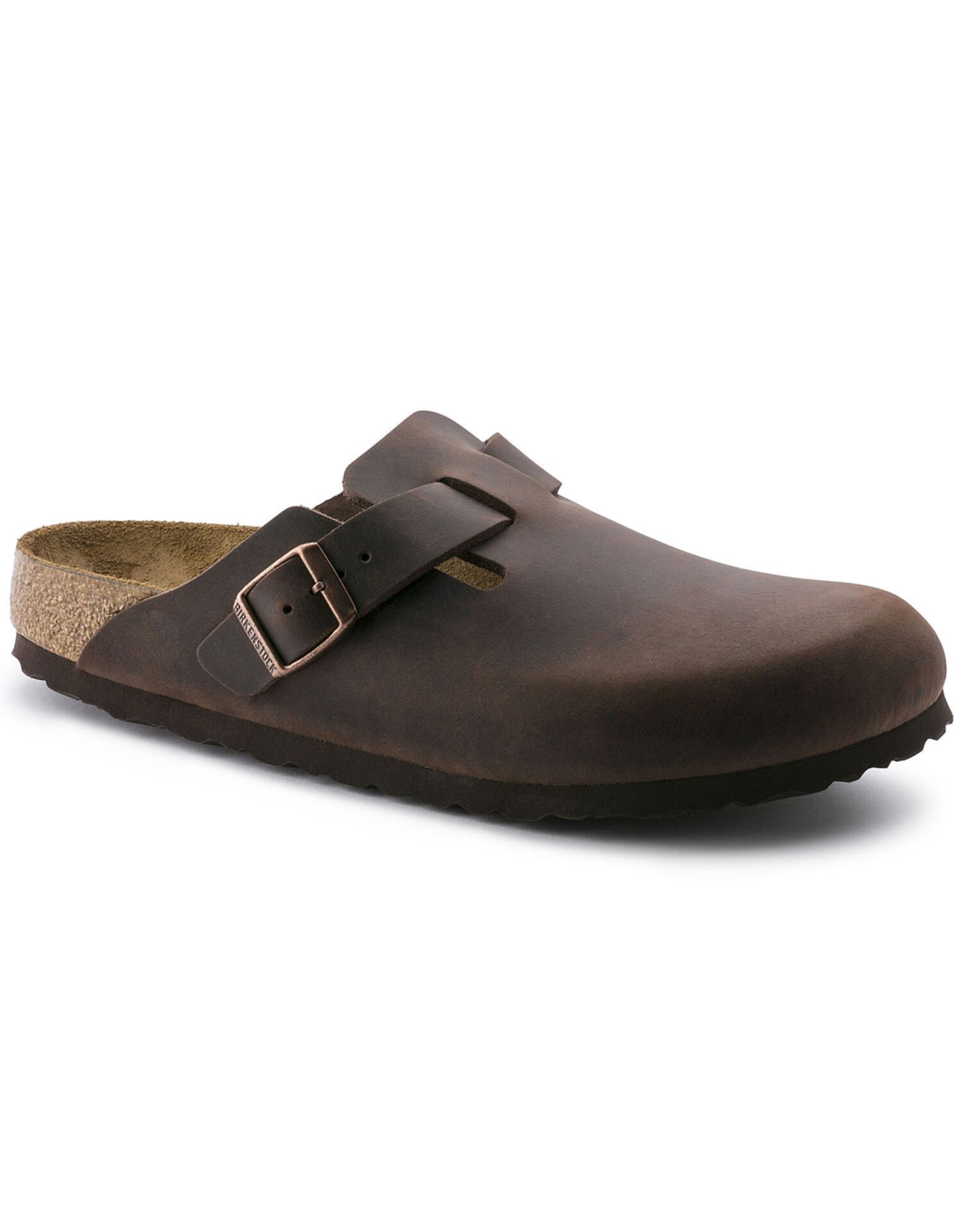 Birkenstock Habana Oiled Leather Soft Footbed Boston