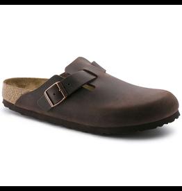 Birkenstock Habana Oiled Leather Soft Footbed Boston