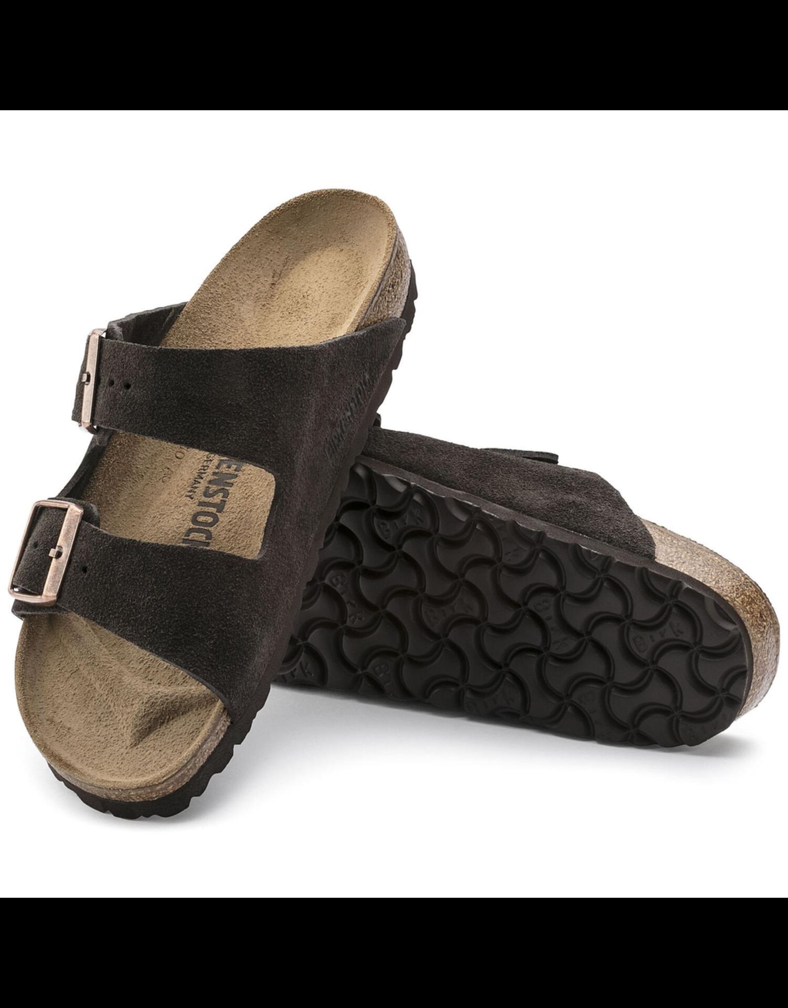 Birkenstock Mocha Suede Arizona Sandal