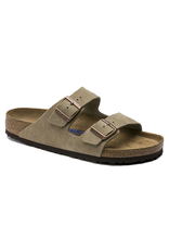 Birkenstock Arizona Soft Footbed Taupe Suede Sandal