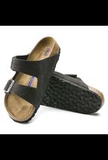 Birkenstock Arizona Soft Footbed Velvet Gray Suede