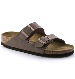 Birkenstock Arizona Mocha Birkibuc Sandal