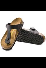 Birkenstock Black Birko-Flor Gizeh Sandal