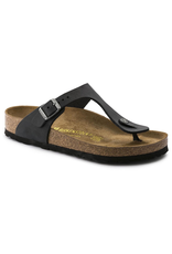 Birkenstock Black Oiled Leather Gizeh Sandal