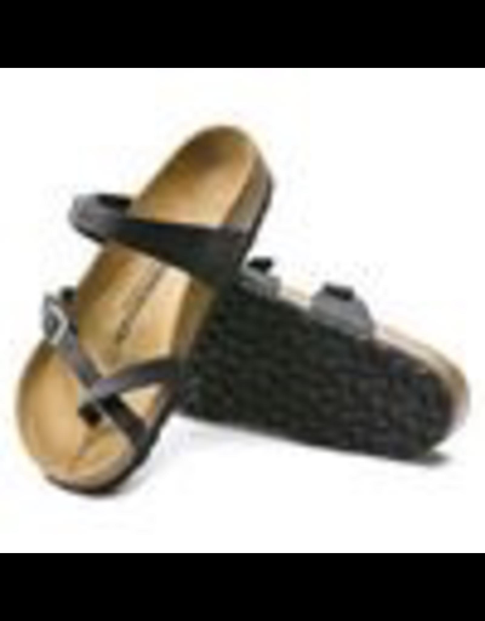 Birkenstock Black Oiled Leather Mayari