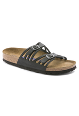 Birkenstock Granada Soft Footbed Black Oiled Leather