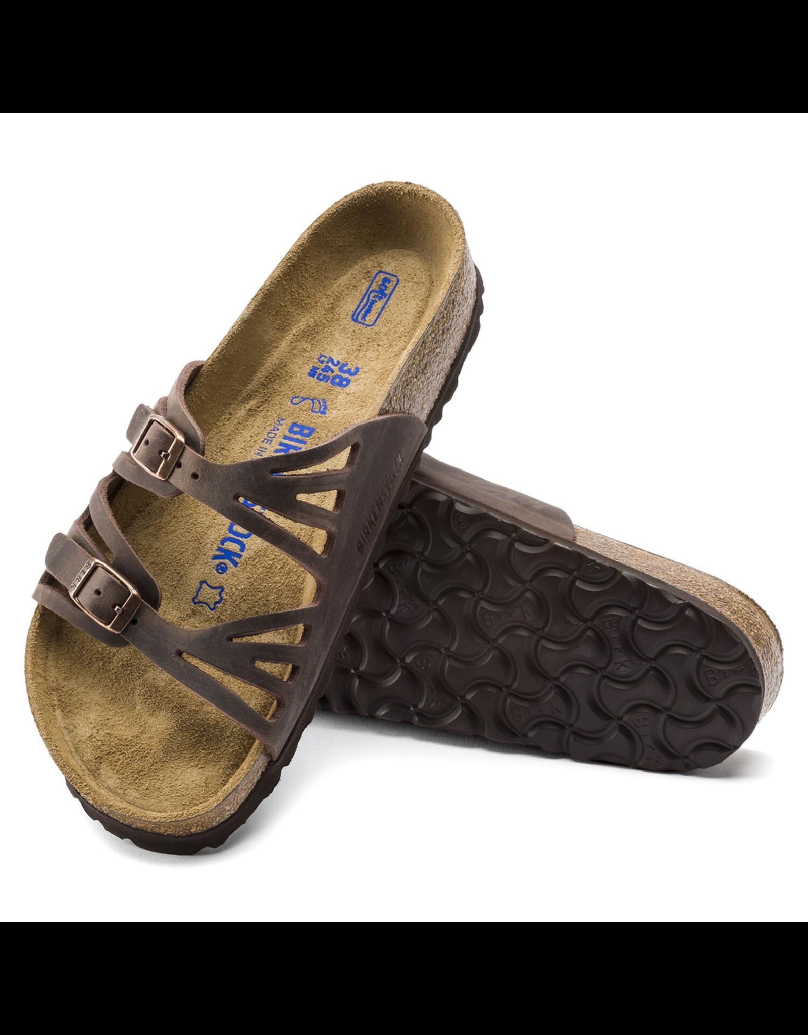 Birkenstock Granada Soft Footbed Habana Oiled Leather