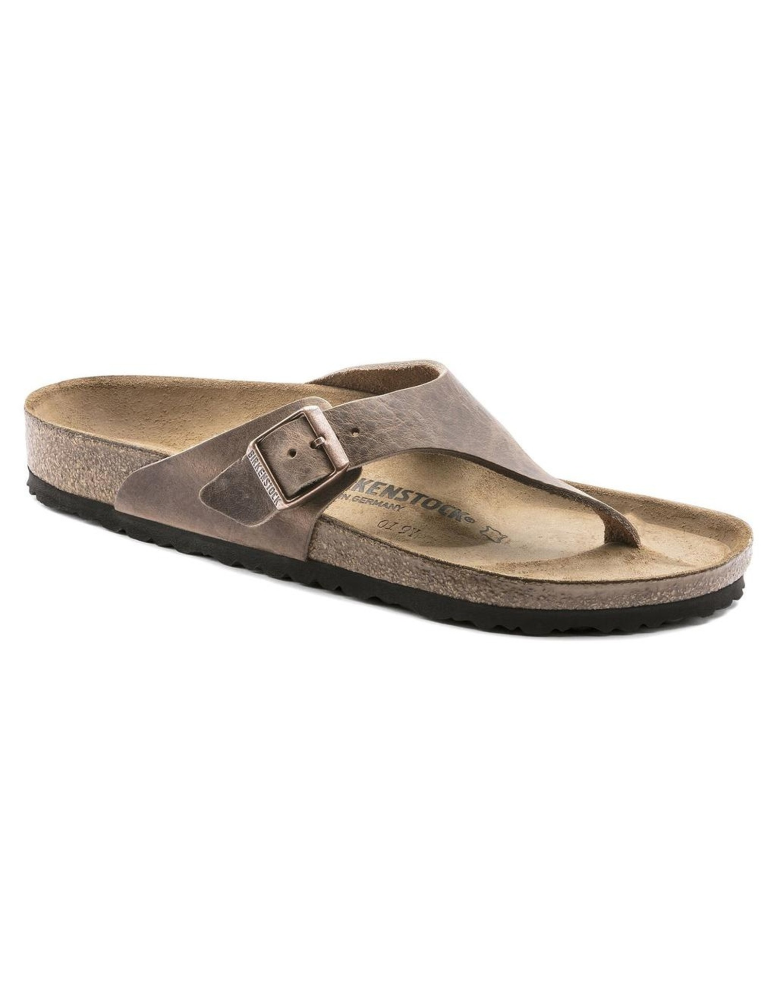 Birkenstock Men's Como Camberra Old Tobacco Leather Sandal