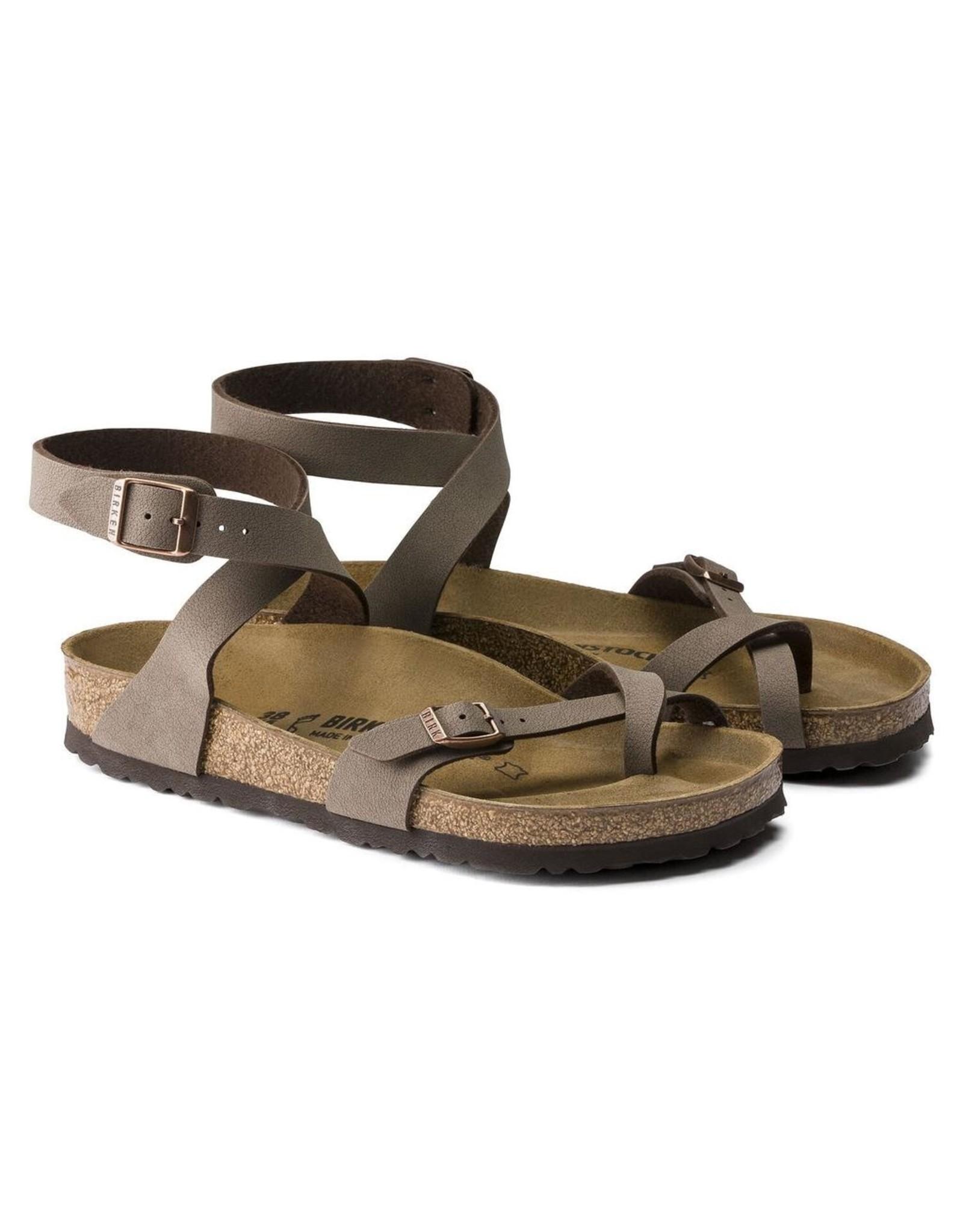 Birkenstock Mocha Birkibuc Yara Sandal