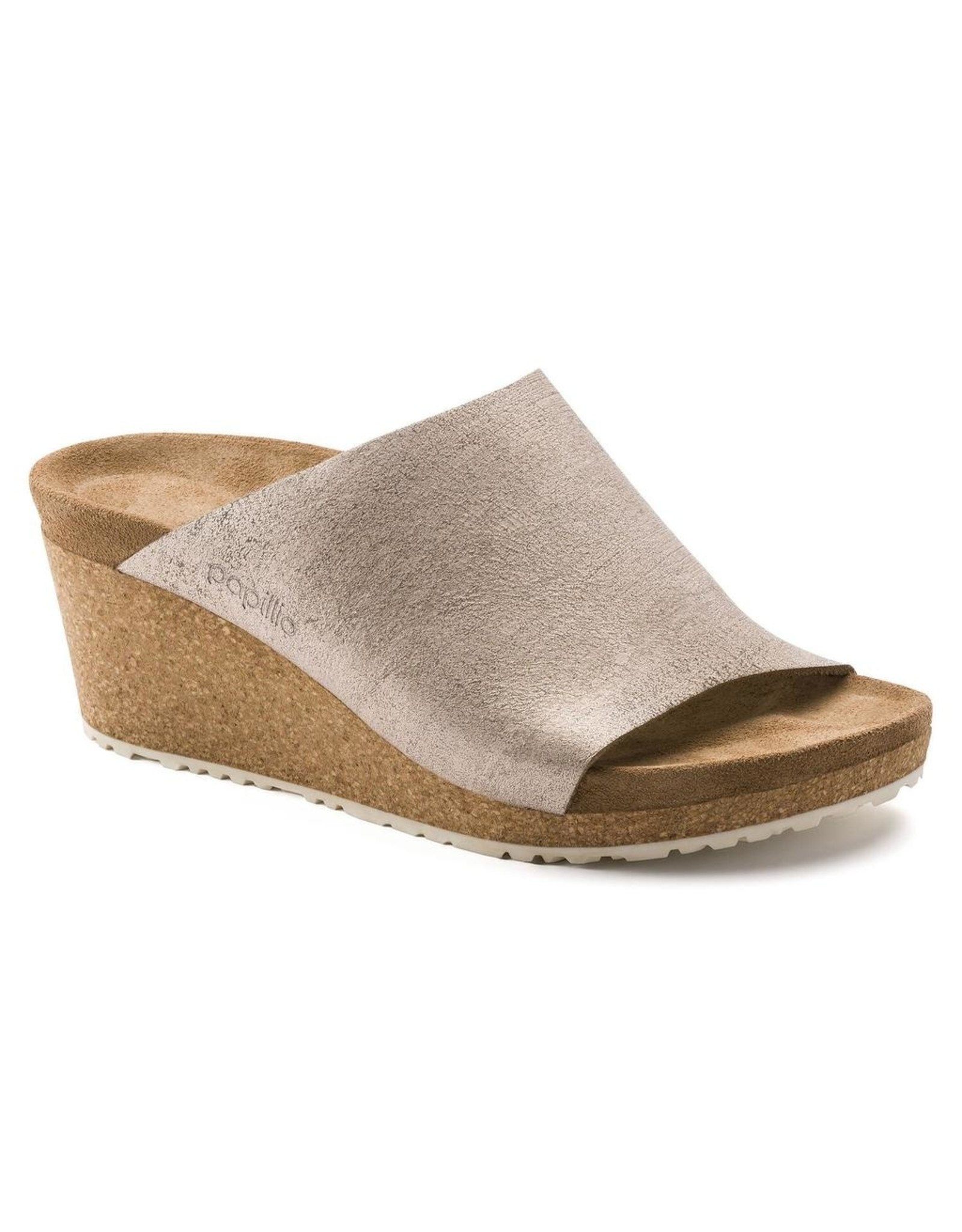 Birkenstock Namica Suede Leather Slid Wedge Sandal