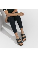 Birkenstock Soft Footbed Black Oiled Leather Arizona Sandal