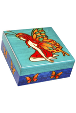 Enchanted Boxes Fairy of the Butterflies Wood Box